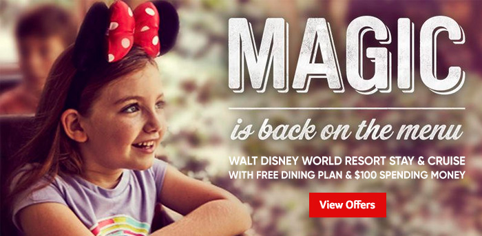 Generic | Magic is back on the Menu | Free Dining Plan & $100 Spending Money