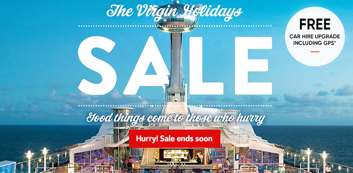 Generic | The Virgin Holidays Sale | Hurry! Sale ends soon