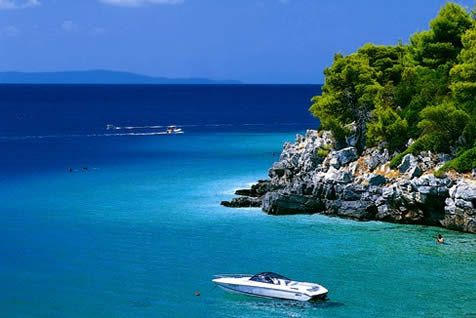 Limonari Beach, Skopelos