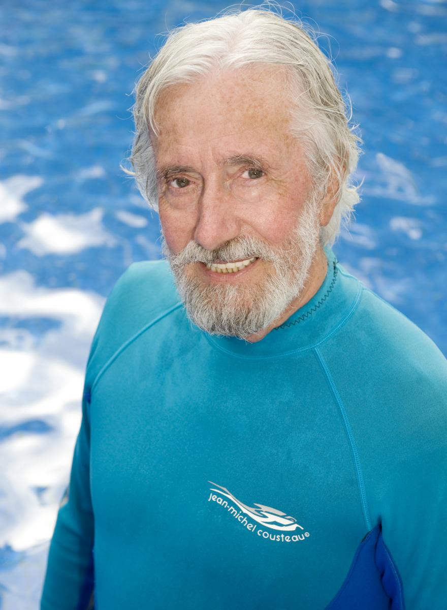 Jean-Michel Costeau en Crystal Cruises