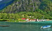 Cruceros por Skjolden, Noruega