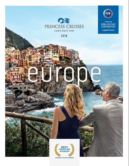 Princess Cruises: Europe 2018