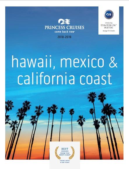 Princess Cruises: Hawaii, Mexico & California Coastal 2018