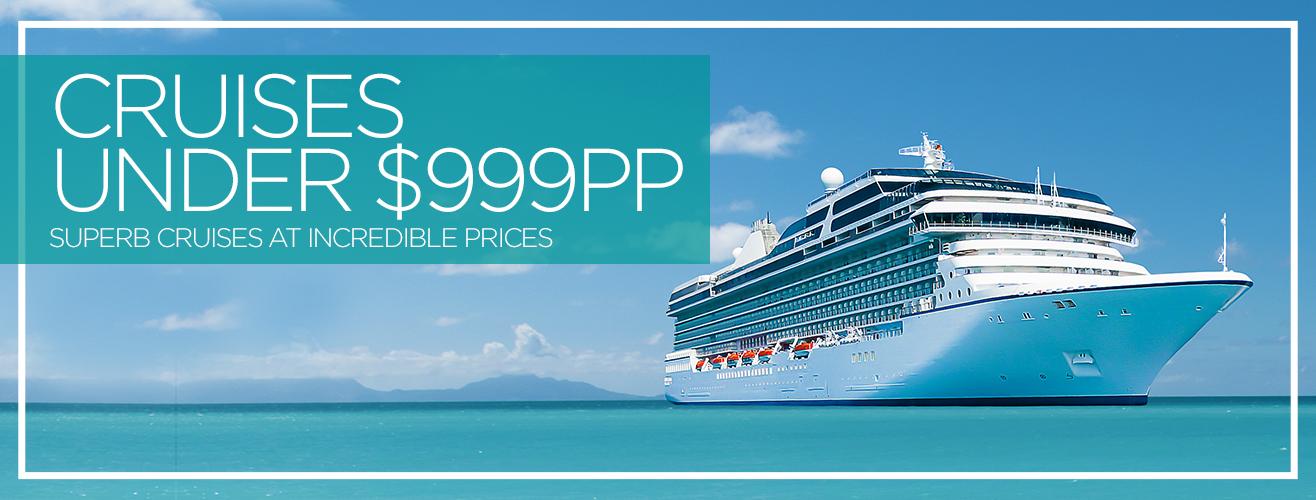 Cruise1st Australia Cruises Under $999