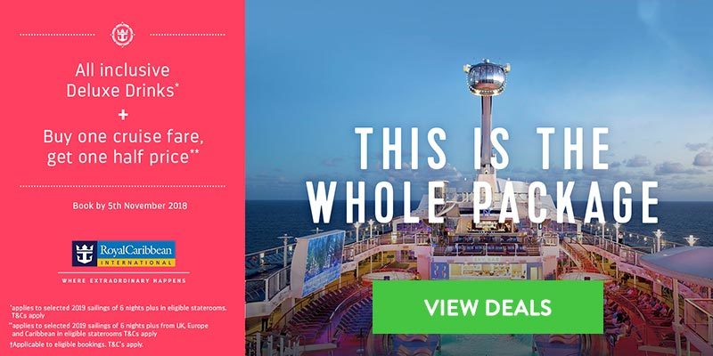 Royal Caribbean Drinks Promotion